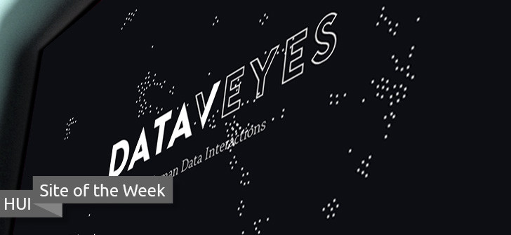 Hacking UI site of the week - Dataveyes
